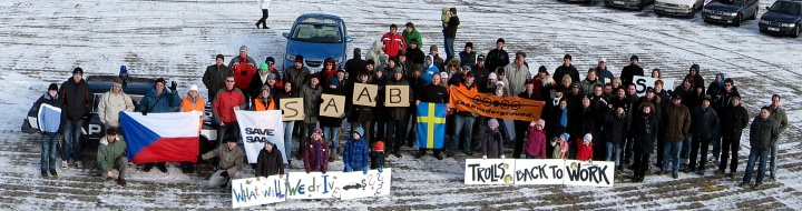 SAAB Support Convoy Anniversary 2012